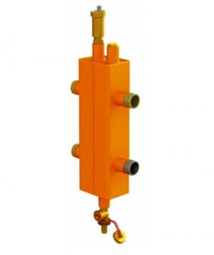 Гидравлический разделитель OLE-PRO ОГС- Р-2-НР + крепление