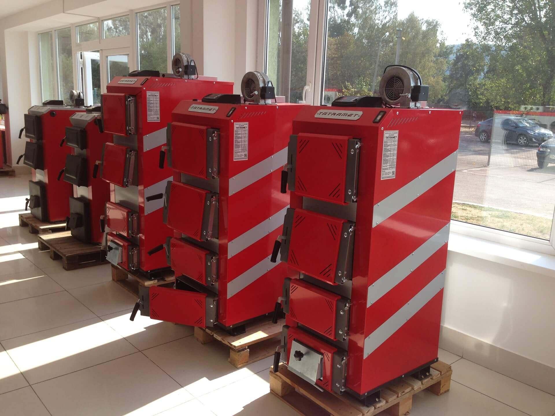 Татрамет – виробник котлів на твердому паливі