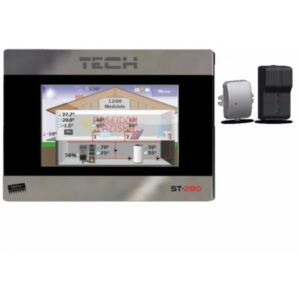 TECH ST-280 + ST-260 безпроводной комнатный регулятор со связью RS