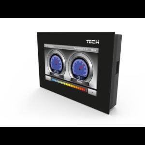 TECH R-6k Dawniej ST-2806 k – kolorowy беспроводный комнатный регулятор для рейки L-6 (скрытый монтаж)