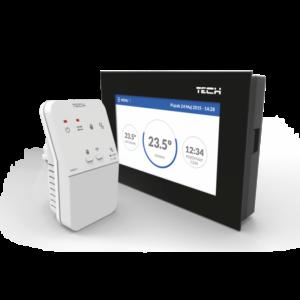 TECH ST-283 C WiFi – безпроводнойпрограммирующий комнатный регулятор скрытого монтажа + WiFi