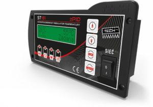 TECH ST- ST-81 zPID  контролер для твердотопливных котлов