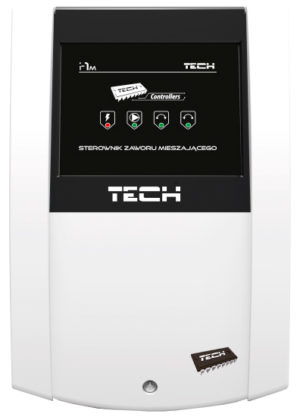 TECH i-1m контролер смесительного клапана – управление одним смесительным клапаном (модуль расширения к главному контролеру)