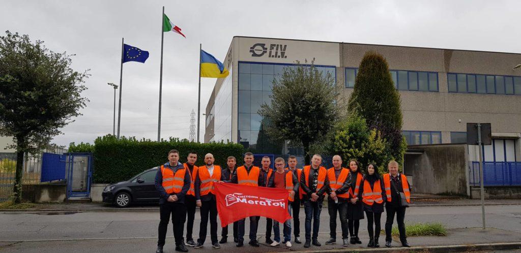 Менеджеры компании МЕГАТОН побывали на инновационном производстве итальянской компании F.I.V.