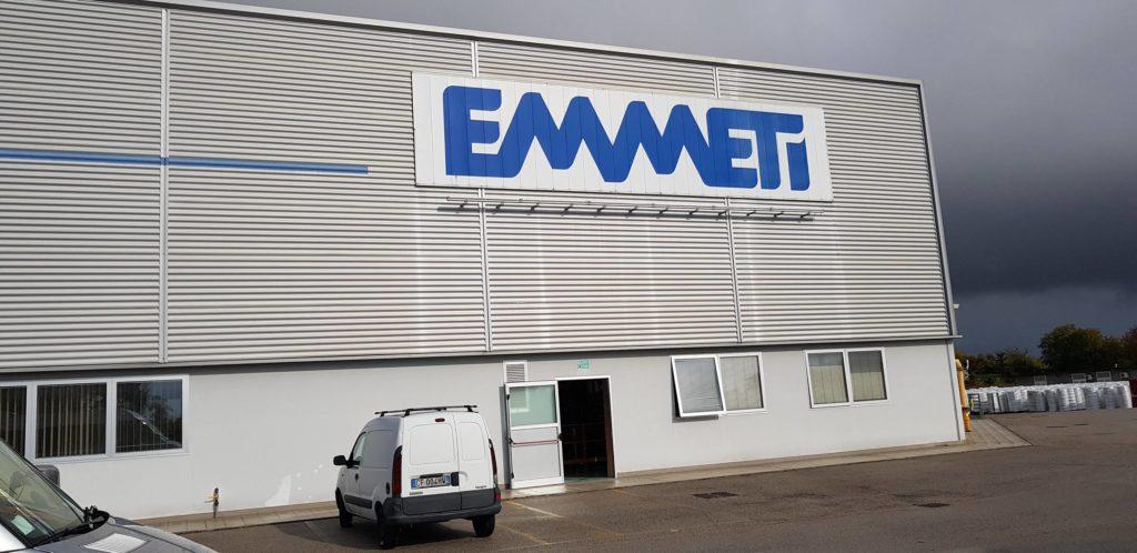 менеджери побували на ще одному виробництві свого партнера, італійській компанії Emmeti