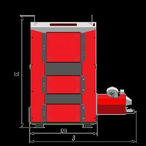 Твердотопливный котел Tatramet MAX PELL