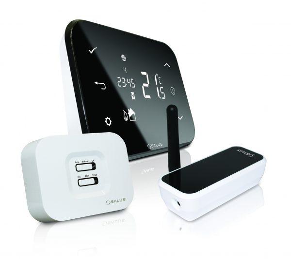 SALUS iT500 термостат програмированый совмесный с интернетом