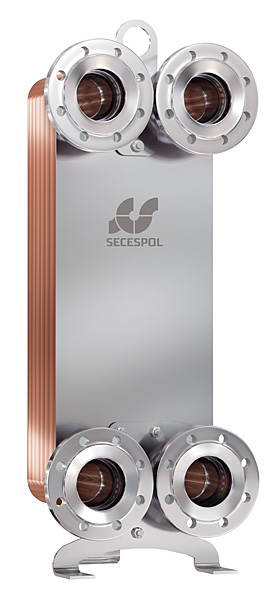 SECESPOL L-line LD235 пластинчатый теплообменник
