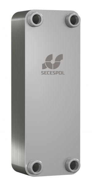 SECESPOL LUNA LС170LN пластинчатый теплообменник из нержавеющих материалов