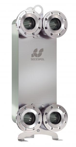 SECESPOL LUNA LD235LN пластинчатый теплообменник из нержавеющих материалов
