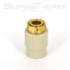 SupraTherm PPR  муфта с накидной гайкой