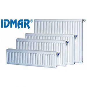 IDMAR Стальной радиатор панельный 11 тип 500 высота боковое подключение