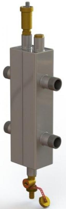 Гидравлический разделитель ОГС-Р-3-H из нержавеющей стали