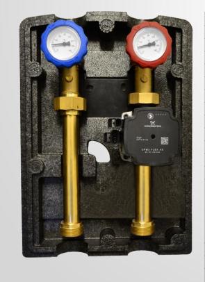 ENSOL насосная группа центрального отопления с насосом ENBOX SIMPLE – DN25