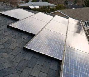 ENSOL комплект креплений для монтажа панелей E-PV 300W и E-PVT 2,0 для крыши из ондулина,рубироида и т.д.