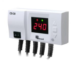 KG Elektronik CS-08 (для насоса ЦО и насоса ГВС)