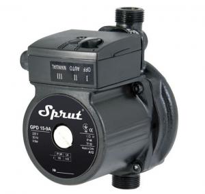 Насос для повышения давления Sprut GPD 15-9А +  присоединительный комплект