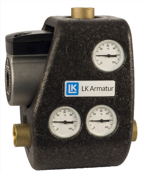 LK Armatur 810 ThermoMat G 70°C 1″ без обратного клапана