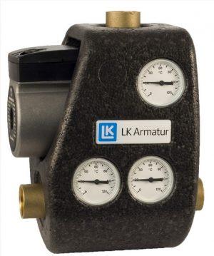 LK Armatur 810 ThermoMat G 70°C 1″ c обратным клапаном