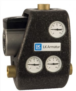 LK Armatur 810 ThermoMat G 70°C 1 1/4″ c обратным клапаном