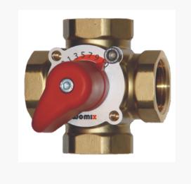 Womix четырехходовой смесительный клапан  MIX M 4 – 1″