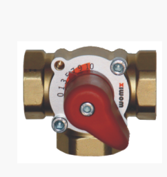 Womix  трехходовой смесительный клапан MIX M 3 – 1 1/2″