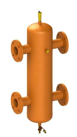 Гидрострелка ОГС-Ф-50 (до 890 кВт) фланец Ду100