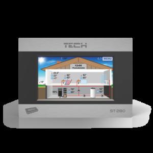 TECH ST-280 проводной комнатный регулятор со связью RS