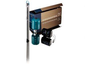 Глубинный насос Grundfos SQE 3-65 + CU 301 (+40 м кабеля)