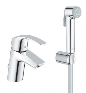 Смеситель однорычажный для раковины Grohe Eurosmart (S-Size) с гигиеническим душем