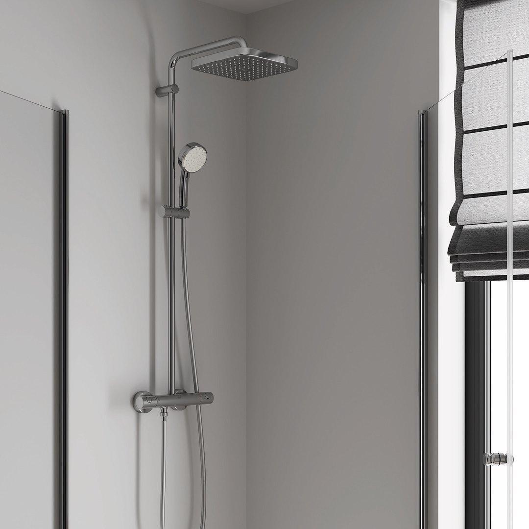Відчуйте абсолютний комфорт від користування новою душовою системою GROHE Tempesta 250