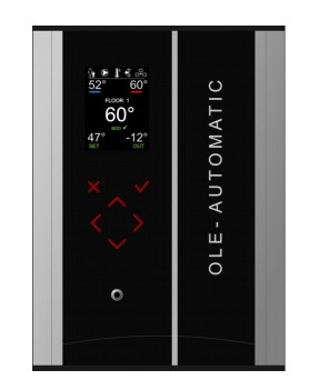 OLE-PRO OFC-4M Контроллер управления 2-мя прямыми контурами и 2-мя смесительными контурами