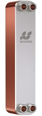 SECESPOL L-line LH40 пластинчатый теплообменник